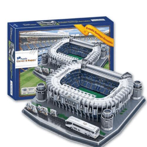 Estadio Santiago Bernabéu Rompecabezas 3D