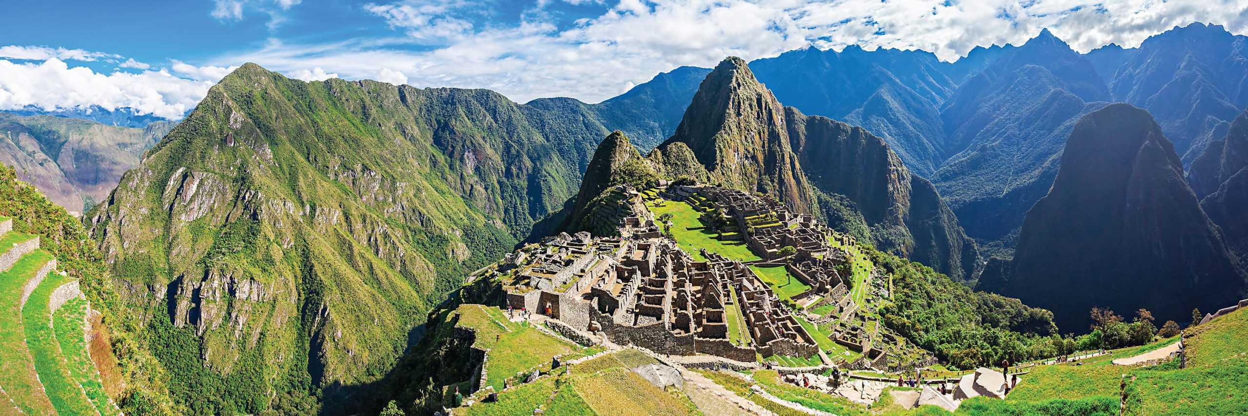 Rompecabezas Panorámico 950 Piezas Machu Picchu | Ingenio Destreza Mental - Rompecabezas y juegos - Diseño y Diversión